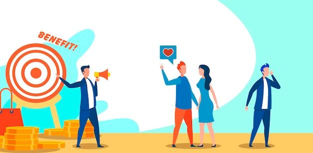 Solution et offre commerciale mobile, publicité.