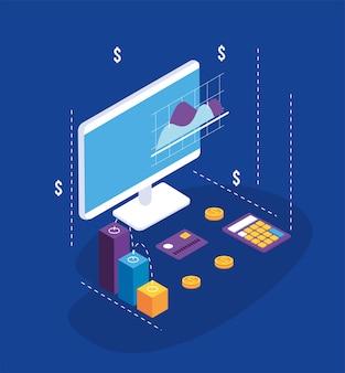 Solutions de paiement avec ordinateur de bureau