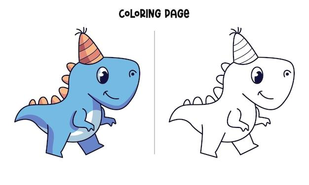 Son anniversaire blue dinos