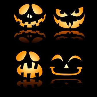 Sourire de sourire d'halloween