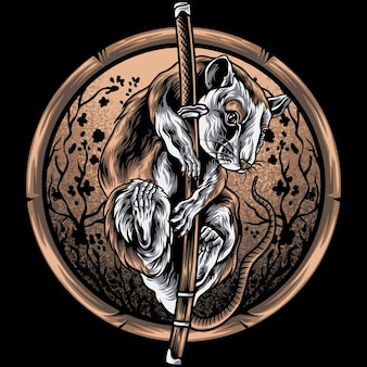 La souris et l'épée
