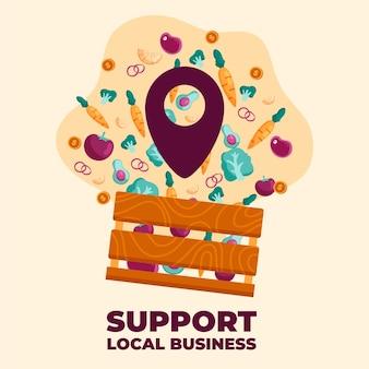 Soutenir les entreprises locales