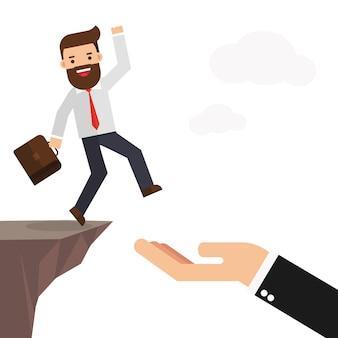 Soutien aux hommes d'affaires et aux partenariats