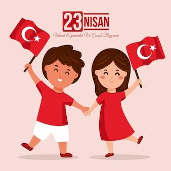 Souveraineté nationale et journée des enfants en turquie