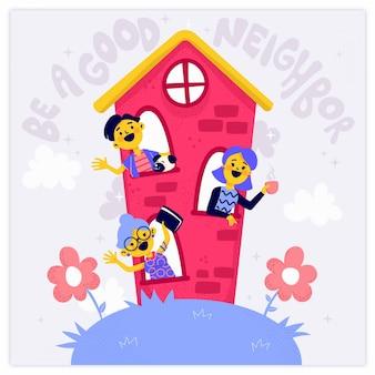 Soyez un bon voisin