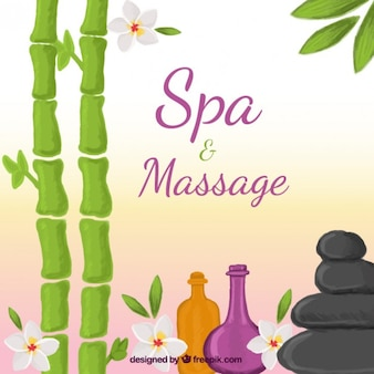 Spa et massage fond