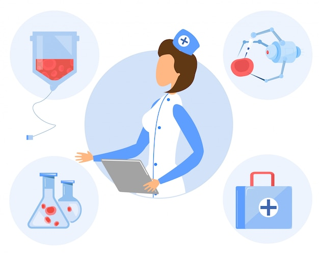 Spécialiste féminine, médecine, génie chimique