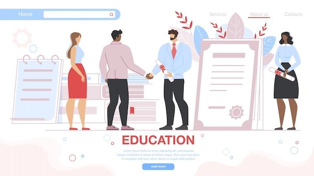 Spécialistes en éducation professionnelle pour adultes diplômés.