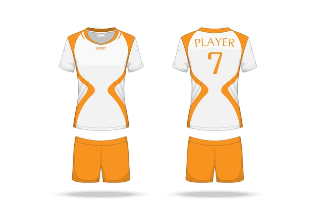 Spécification volleyball jersey