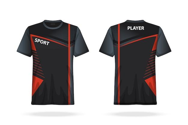 Spécifications soccer t shirt col rond jersey modèle