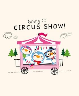 Spectacle de cirque mignon