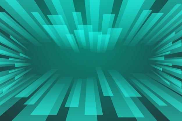Spectre abstrait vert