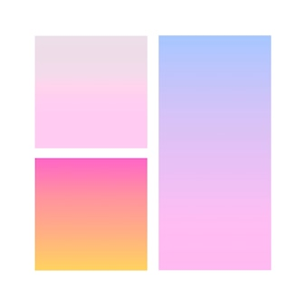 Sphère dégradé abstraite de violet, rose, bleu. modèle de vecteur
