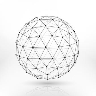 Sphère filaire
