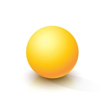Sphère jaune