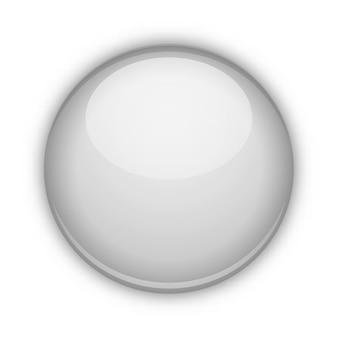 Sphère de verre isolée