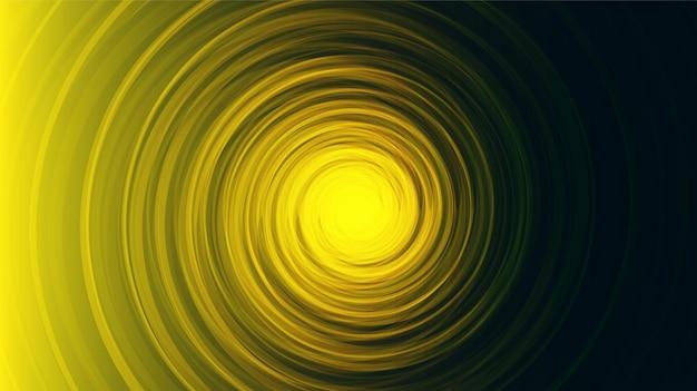 Spirale jaune comique