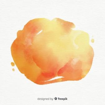 Splash aquarelle coloré