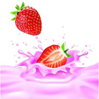 Splash aux fraises