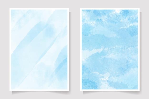 Splash de lavage humide aquarelle bleu marine magnifique