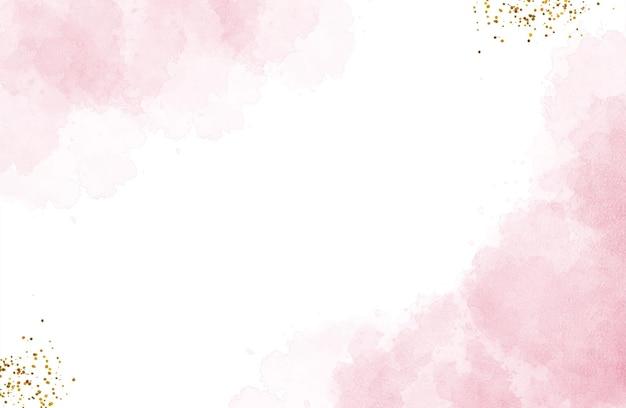 Splash rouge aquarelle abstraite pour le fond