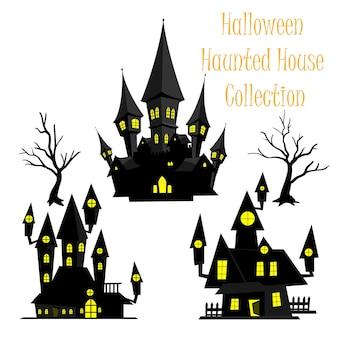 Spooky halloween hanté collection maison.