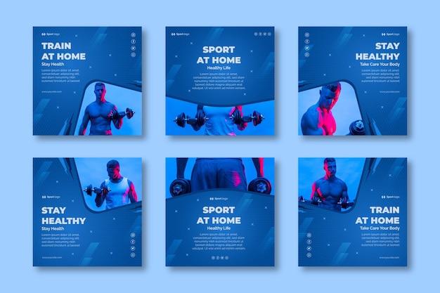 Sport à la maison instagram posts
