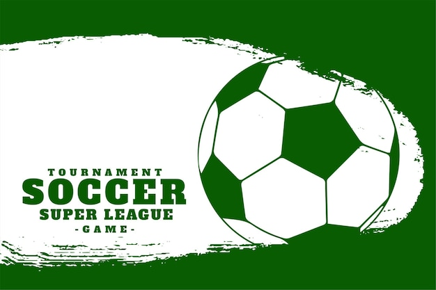 Sports de football soccer league