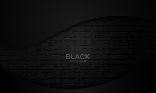 Sports de texture noire abstraite. fond géométrique. concept de forme moderne.