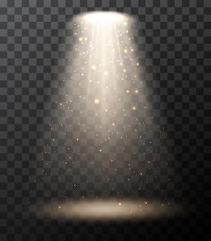 Spot lights et bokeh