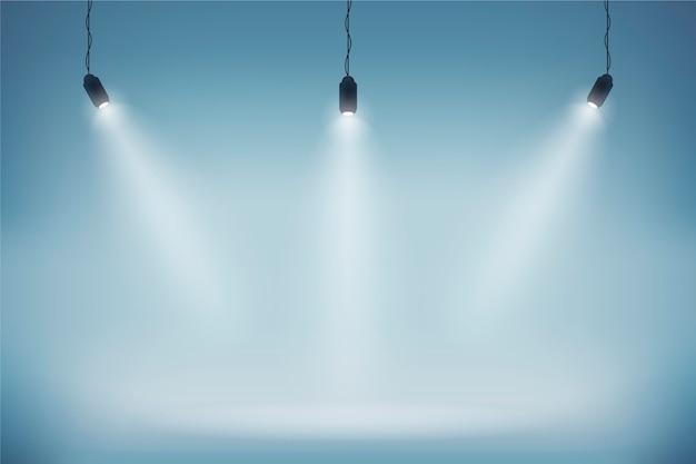 Spot lumières fond d'écran