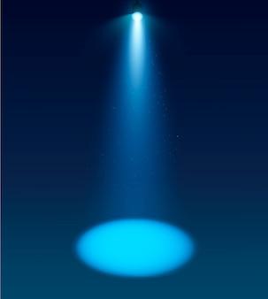 Spotlight fond de vecteur