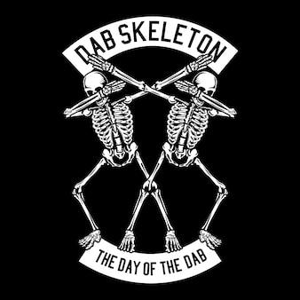 Squelette dab
