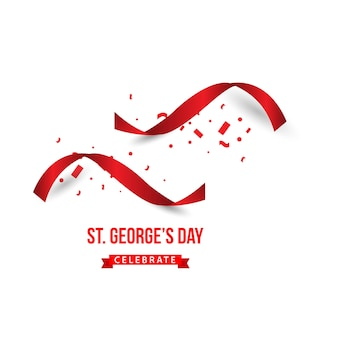 St george's day célèbre la conception de modèles vectoriels
