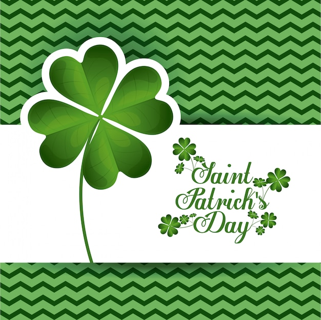 St patricks day design, illustration vectorielle