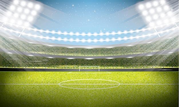 Stade de football. arène de football.