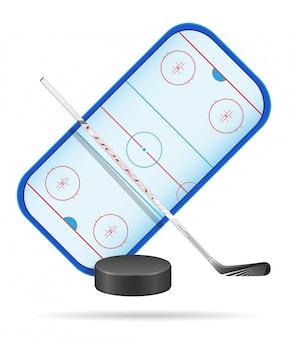 Stade de hockey.