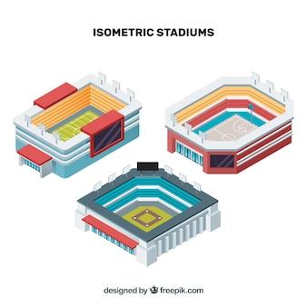 Stades isométriques