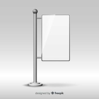 Stand moderne au design réaliste