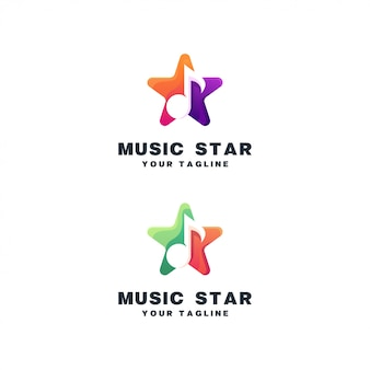 Star logo ensemble de musique