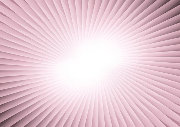 Starburst abstrait