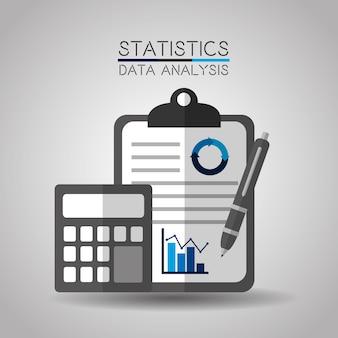 Statistiques analytiques de données