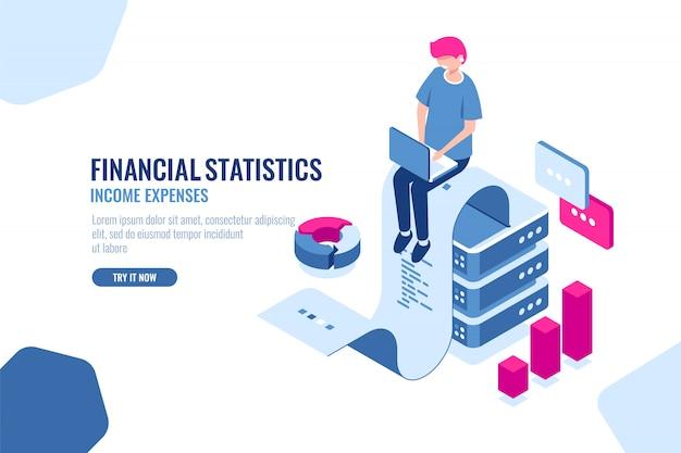 Statistiques financières
