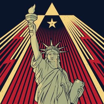 Statue de la liberté, new york, etats-unis