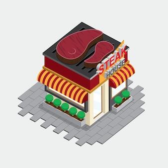 Steak house bâtiment