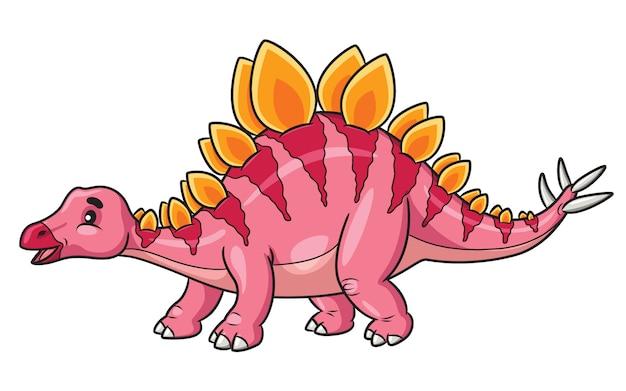 Stegosaurus cartoon