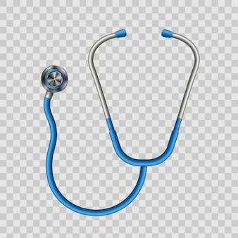Stéthoscope de médecine médicale.