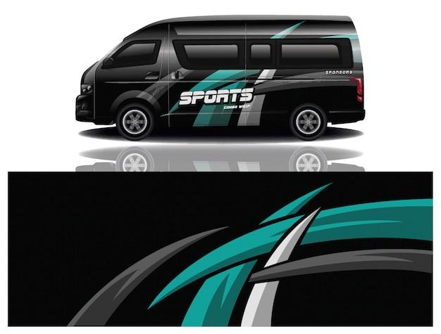 Sticker voiture van