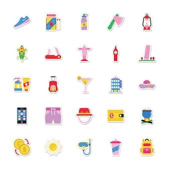 Stickers été et vacances