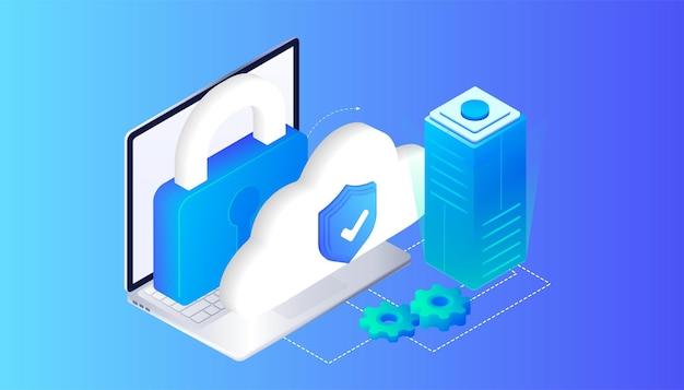 Stockage cloud cyber protection antivirus mise à jour des appareils informatique en ligne base de données internet